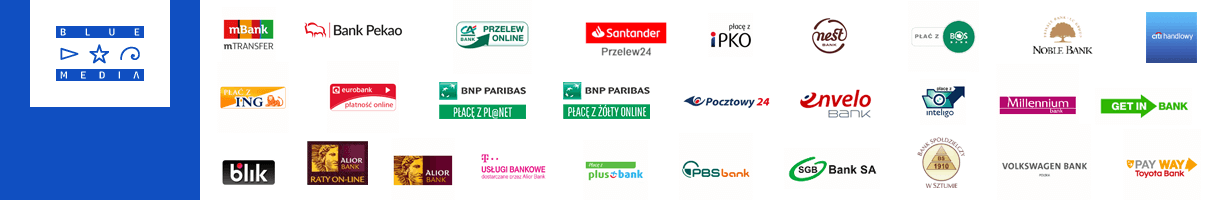 Sposoby płatności profileocynkowane.com.pl